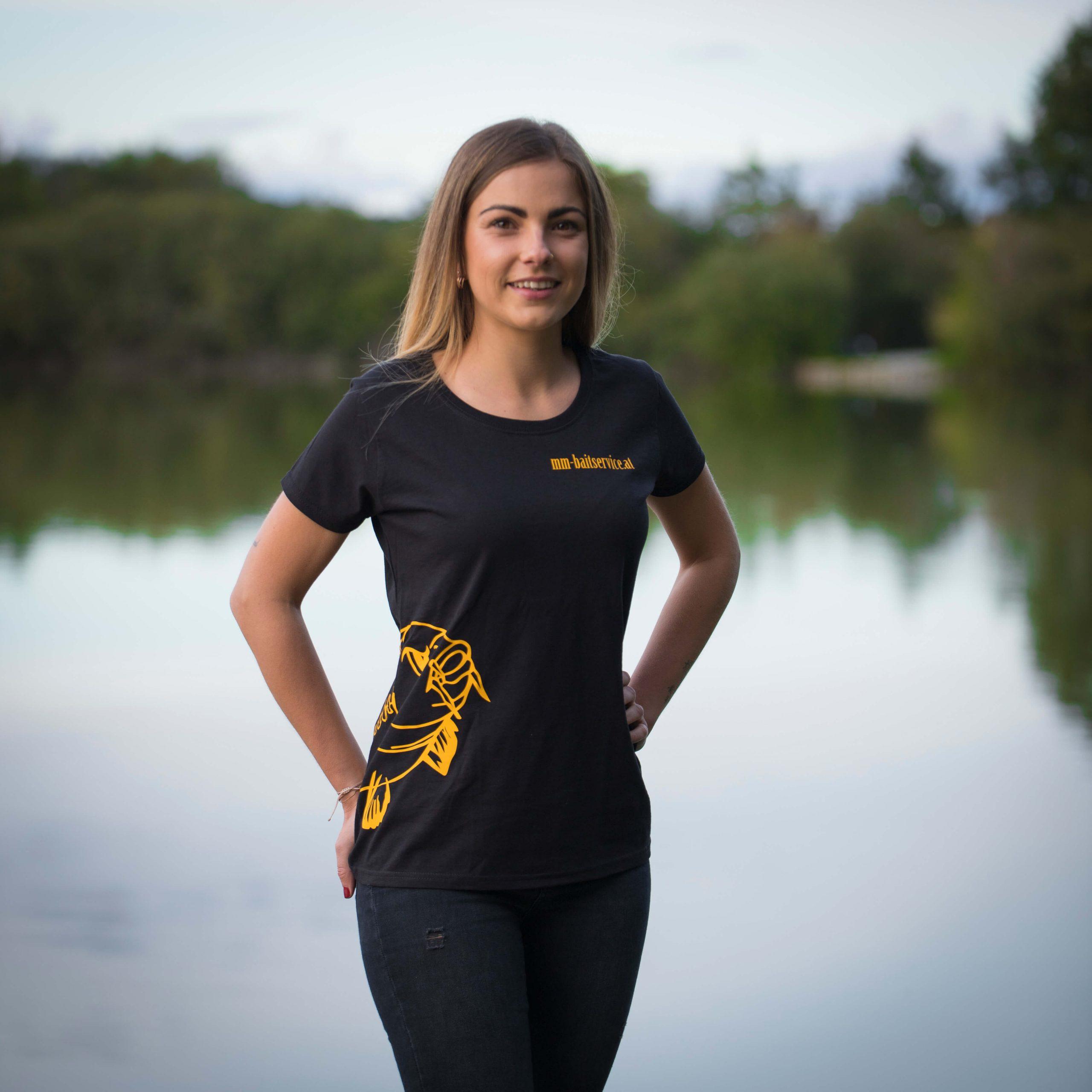 Damen T-shirt mit Flosse