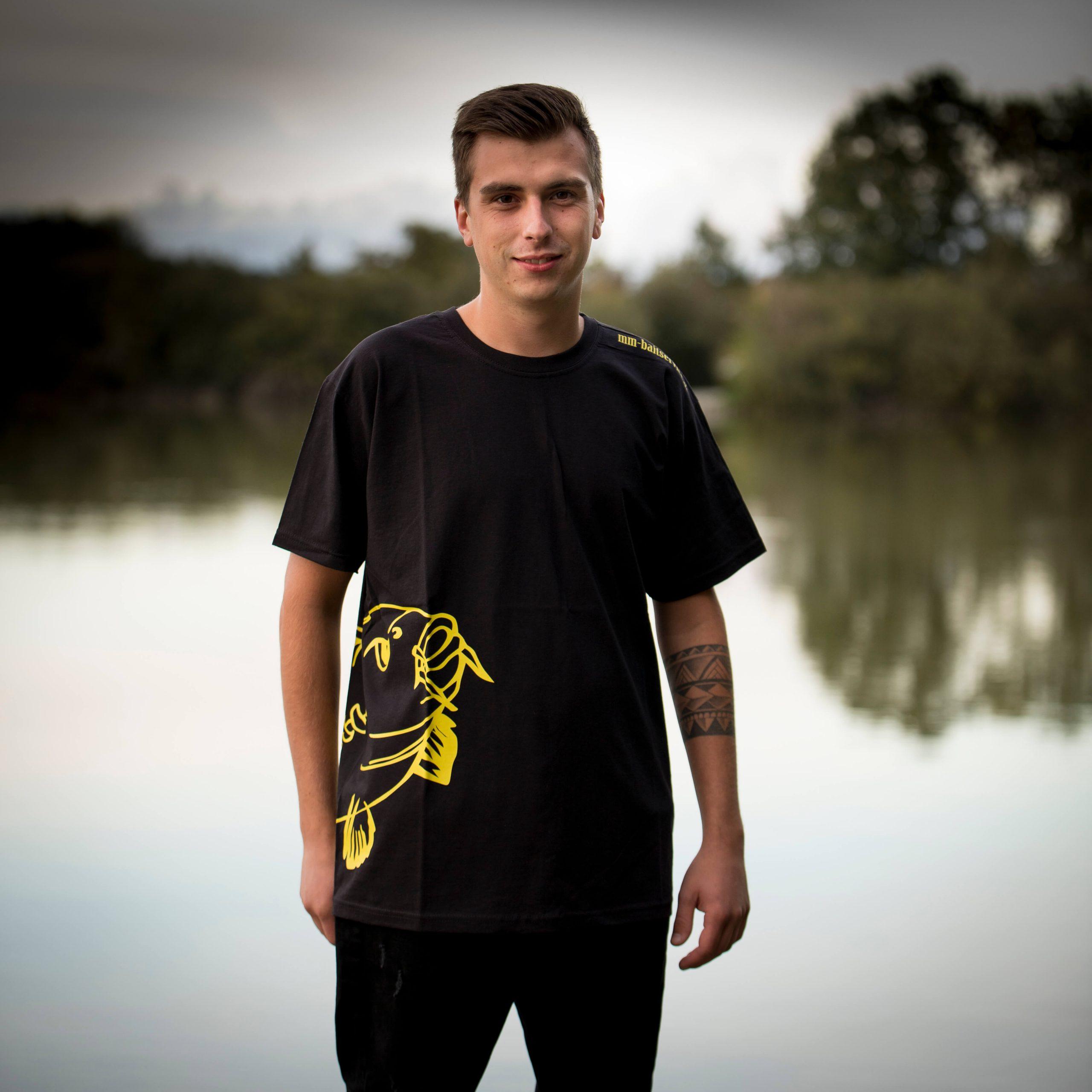 Herren T-shirt mit Flosse