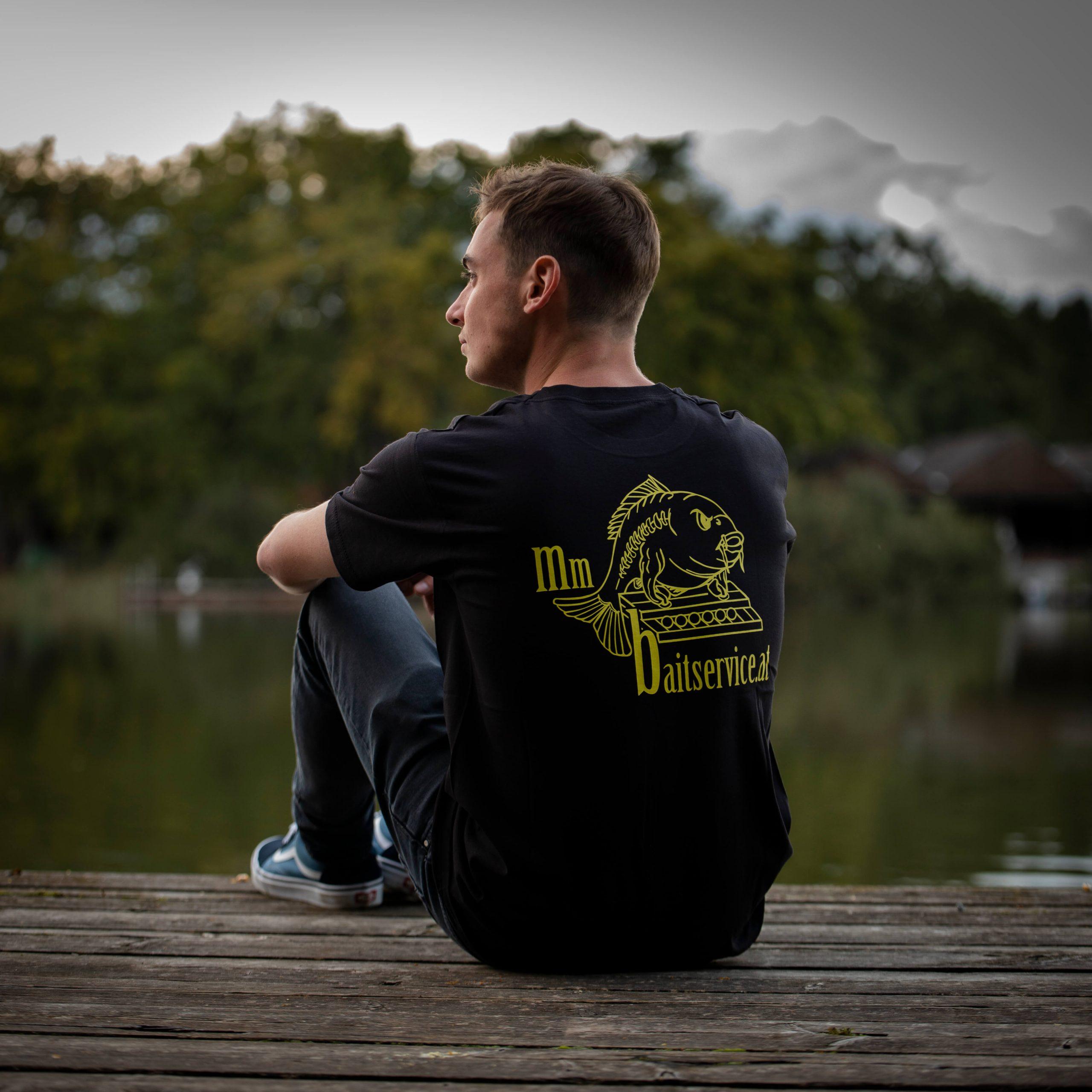 Herren T-shirt mit Logo